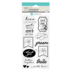 Hampton Art - Clear Acrylic Stamps - Love