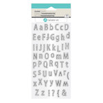 Hampton Art - Clear Acrylic Stamps - Alphabet Outlined