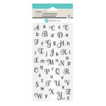 Hampton Art - Clear Acrylic Stamps - Alphabet