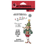 Art Impressions - Christmas - Clear Photopolymer Stamp Set - Ugly Sweater