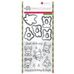 Hampton Art - Christmas - Stamp and Die Set - Reindeer Fun