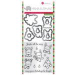 Hampton Art - Christmas - Stamp and Die Set - Reindeer Fun
