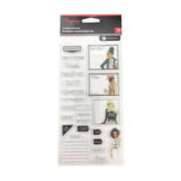 Hampton Art - Clear Acrylic Stamps - Get It Done