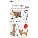 Hampton Art - Clear Acrylic Stamps - Hot Dog