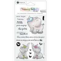 Hampton Art - Clear Acrylic Stamps - Never Forget