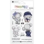 Hampton Art - Clear Acrylic Stamps - Hey Cutie