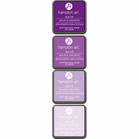 Hampton Art - Ink Pad - Lovely Lilac - 4 Pack