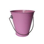 Hampton Art - Tin Pail - Small - Pastel Pink