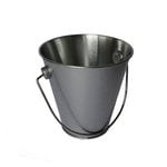 Hampton Art - Tin Pail - Small - Silver