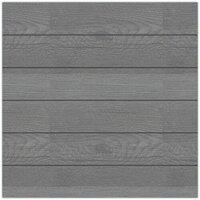 Hampton Art - 12 x 12 Wood Plank - Gray