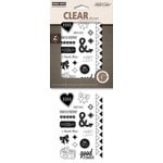 Hero Arts - Studio Calico - Poly Clear - Clear Acrylic Stamps - Dear Saying