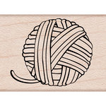 Hero Arts - Woodblock - Wood Mounted Stamps - Yarn