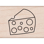 Hero Arts - Woodblock - Wood Mounted Stamps - Cheese