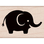 Hero Arts - Baby Collection - Woodblock - Wood Mounted Stamps - Baby Elephant