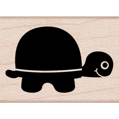 Hero Arts - Critters Collection - Woodblock - Wood Mounted Stamps - Little Turtle