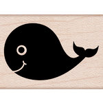 Hero Arts - Critters Collection - Woodblock - Wood Mounted Stamps - Little Whale