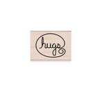Hero Arts - Woodblock - Wood Mounted Stamps - Hugs