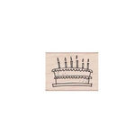 Hero Arts - Woodblock - Wood Mounted Stamps - Birthday Cake