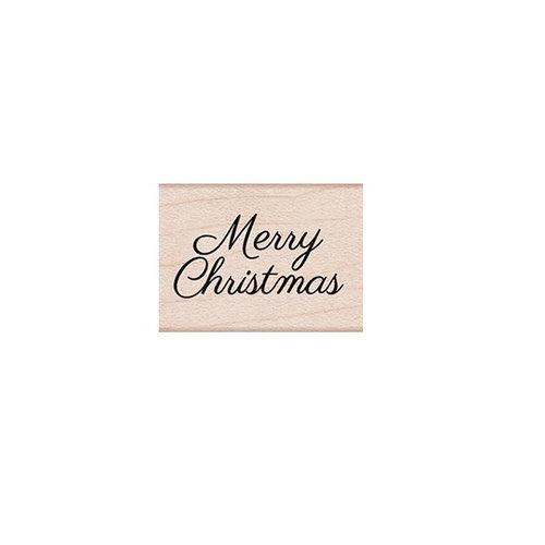 Hero Arts - Woodblock - Wood Mounted Stamps - Little Merry Christmas