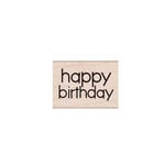 Hero Arts - Woodblock - Wood Mounted Stamps - Happy Birthday Message