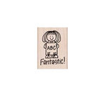Hero Arts - Woodblock - Wood Mounted Stamps - Fantastic