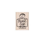Hero Arts - Woodblock - Wood Mounted Stamps - Please Sign