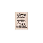 Hero Arts - Woodblock - Wood Mounted Stamps - Homework