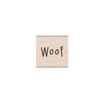 Hero Arts - Friendly Critters Collection - Woodblock - Wood Mounted Stamps - Woof