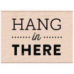 Hero Arts - Woodblock - Wood Mounted Stamps - Hang In There