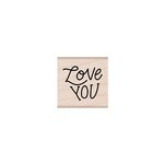 Hero Arts - Woodblock - Wood Mounted Stamps - Love You Message