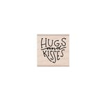 Hero Arts - Woodblock - Wood Mounted Stamps - Hugs and Kisses Message