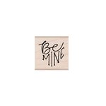 Hero Arts - Woodblock - Wood Mounted Stamps - Be Mine Message