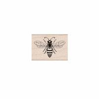 Hero Arts- Season of Wonder Collection - Woodblock - Wood Mounted Stamps - Friendly Bee