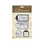 Hero Arts - Art of the Card - Repositionable Rubber Stamps - Journal Tags