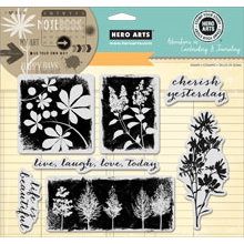 Hero Arts - Art of the Card - Repositionable Rubber Stamps - Cherish Yesterday