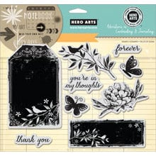 Hero Arts - Art of the Card - Repositionable Rubber Stamps - Forever