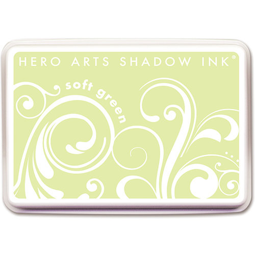 Hero Arts - Dye Ink Pad - Shadow Ink - Soft Green