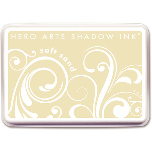 Hero Arts - Dye Ink Pad - Shadow Ink - Soft Sand