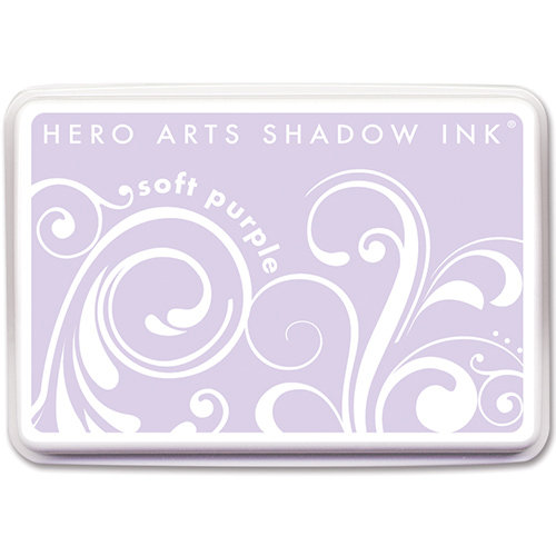 Hero Arts - Dye Ink Pad - Shadow Ink - Soft Purple