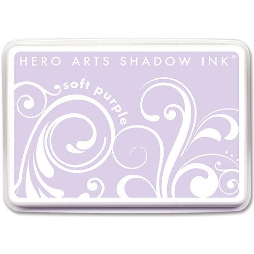Hero Arts - Dye Ink Pad - Shadow Ink - Soft Purple
