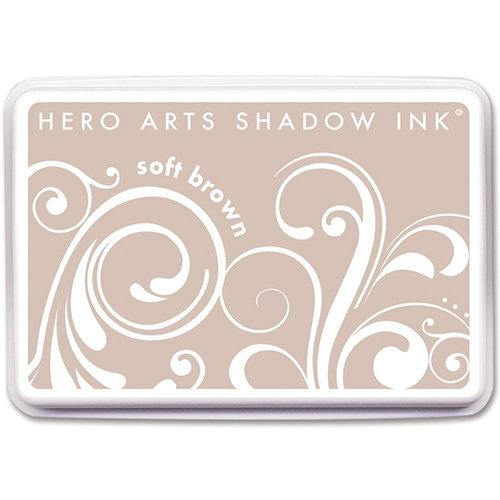 Hero Arts - Dye Ink Pad - Shadow Ink - Soft Brown