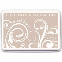 Hero Arts - Dye Ink Pad - Shadow Ink - Soft Brown