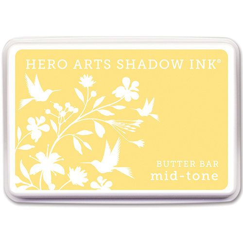 Hero Arts - Dye Ink Pad - Shadow Ink - Mid-Tone - Butter Bar