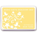 Hero Arts - Dye Ink Pad - Shadow Ink - Mid-Tone - Butter Bar