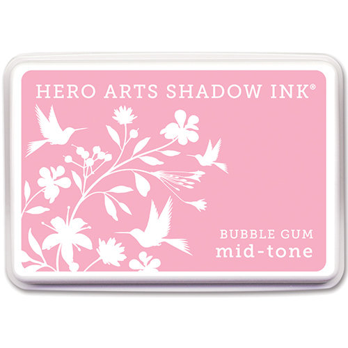 Hero Arts - Dye Ink Pad - Shadow Ink - Mid-Tone - Bubble Gum