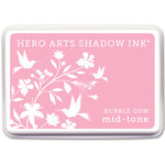 Hero Arts - Dye Ink Pad - Shadow Ink - Mid-Tone - Bubble Gum