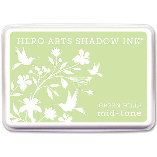Hero Arts - Dye Ink Pad - Shadow Ink - Mid-Tone - Green Hills