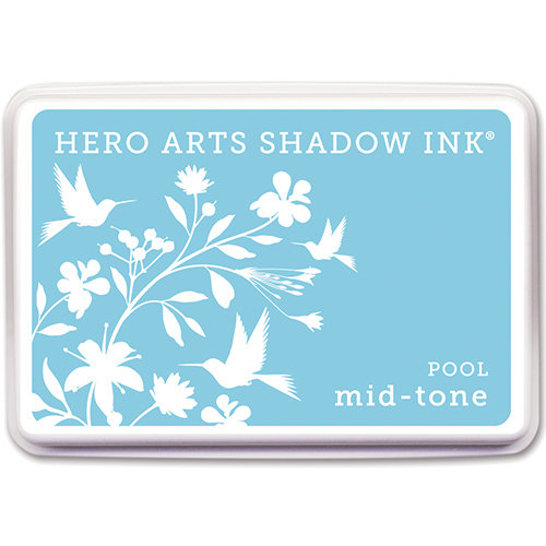 Hero Arts - Dye Ink Pad - Shadow Ink - Mid-Tone - Pool