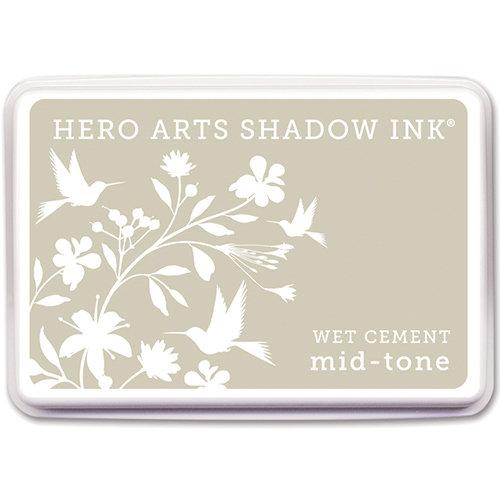 Hero Arts - Dye Ink Pad - Shadow Ink - Mid-Tone - Wet Cement