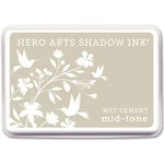 Hero Arts - Dye Ink Pad - Shadow Ink - Mid-Tone - Wet Cement